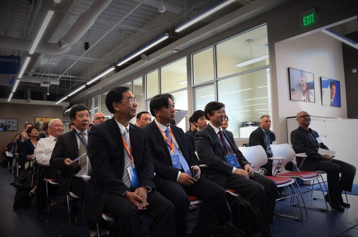 UCCTC在洛杉矶接待中国清洁技术企业投资代表团