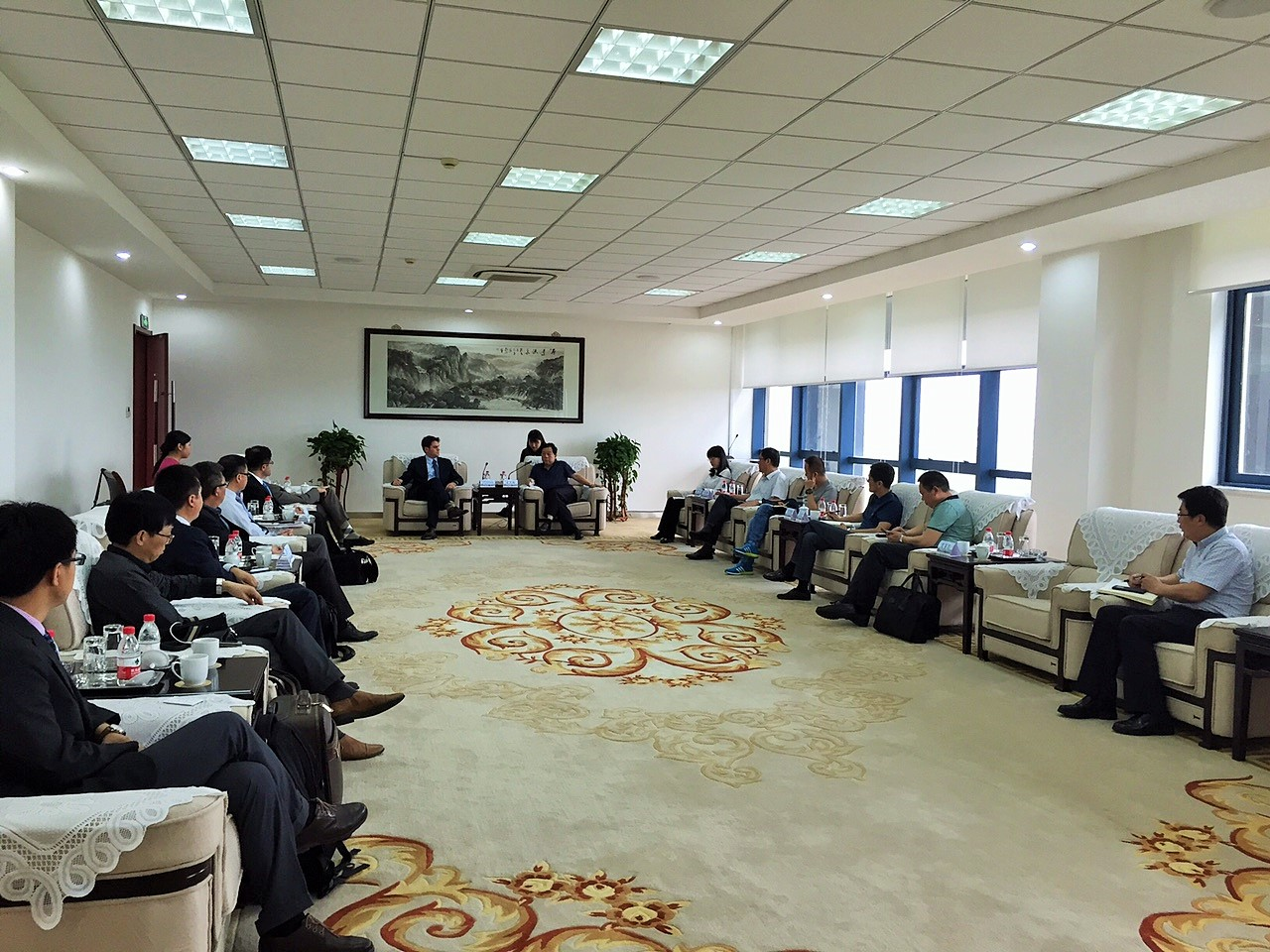 UCCTC美国清洁水CEO商务访问团成功访华