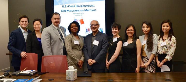 中美环保产业CEO商务对接活动在洛杉矶成功举行