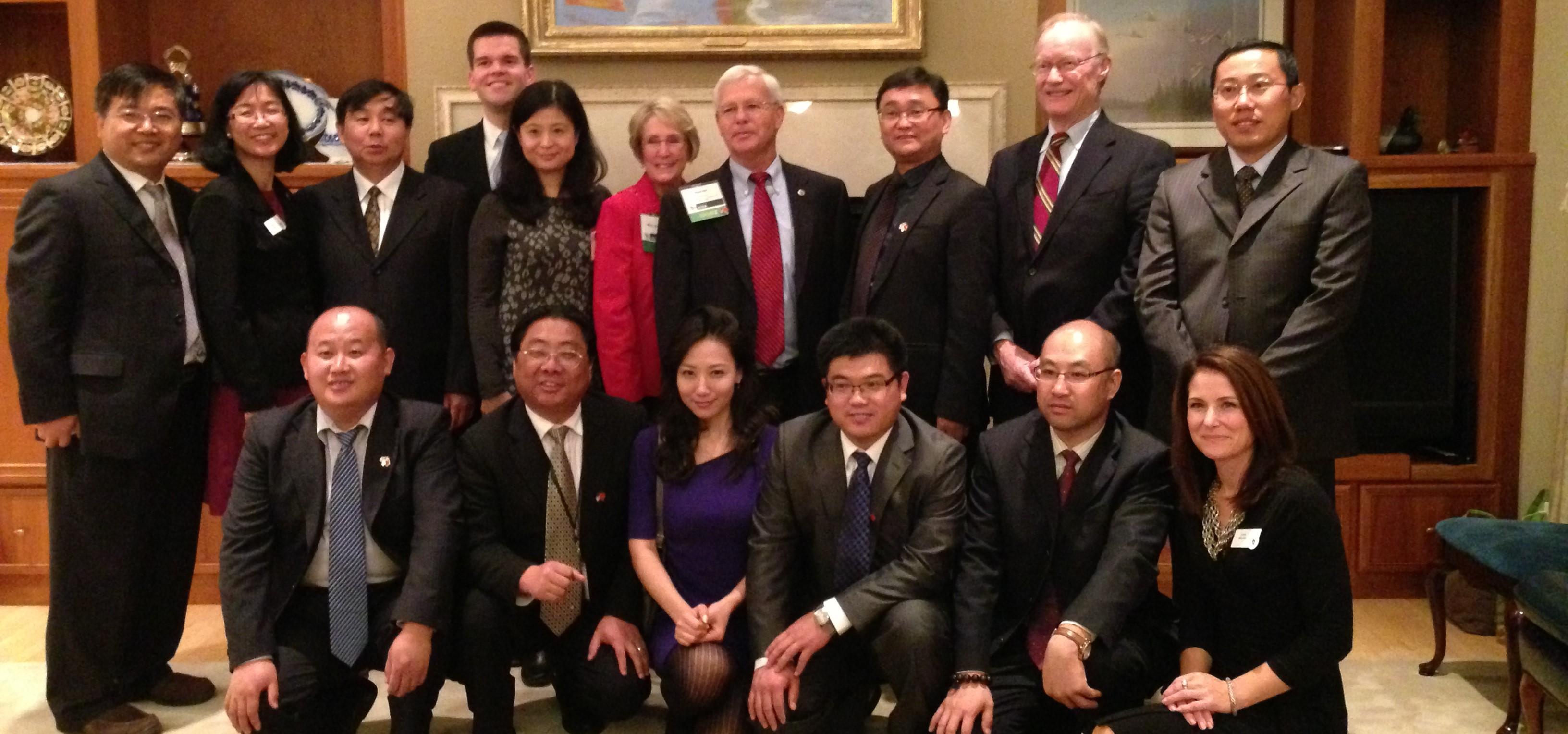 中国地下水及土壤修复技术团访问美国