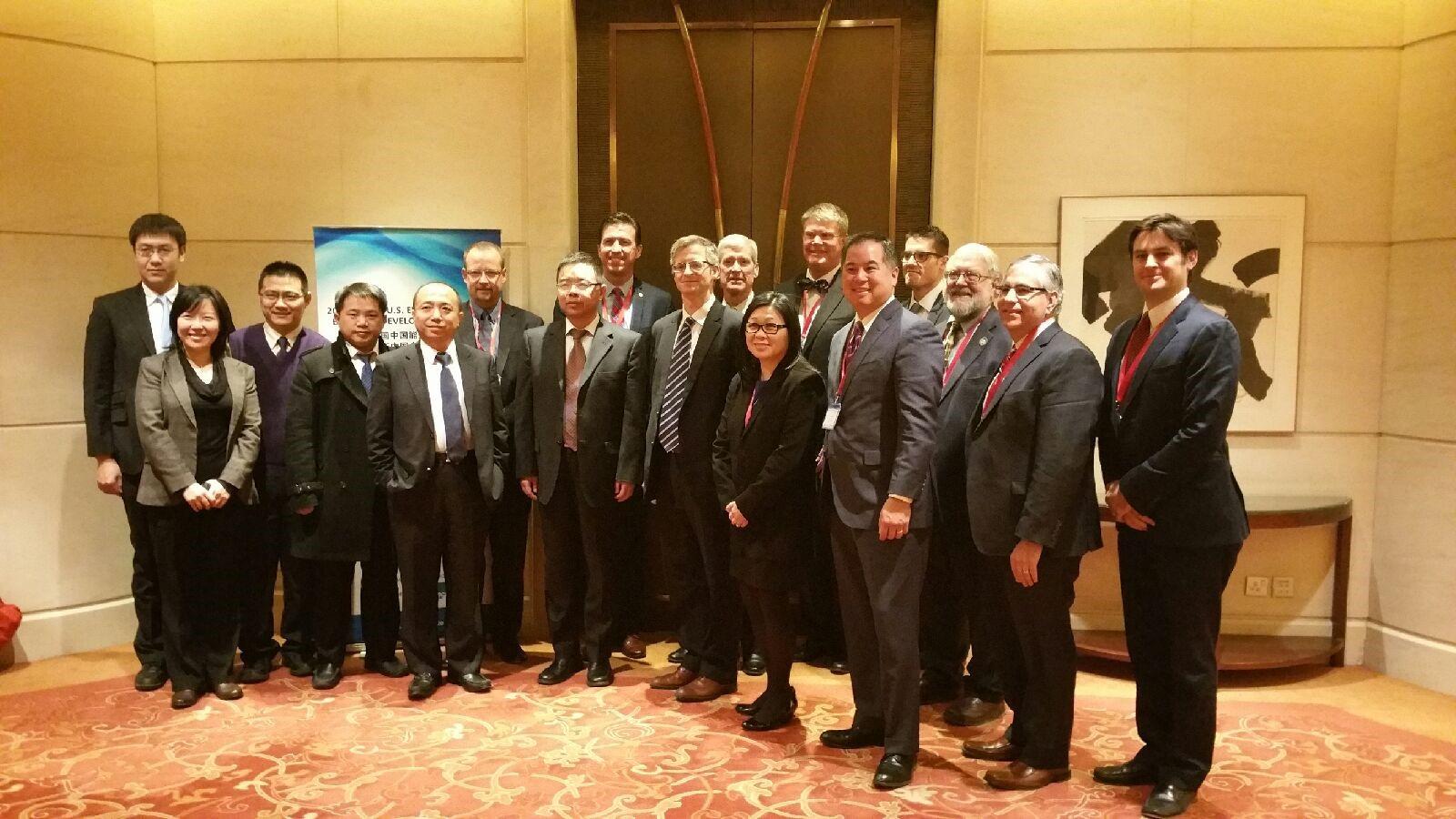 UCCTC成功组织2014美国高级能效代表团访华