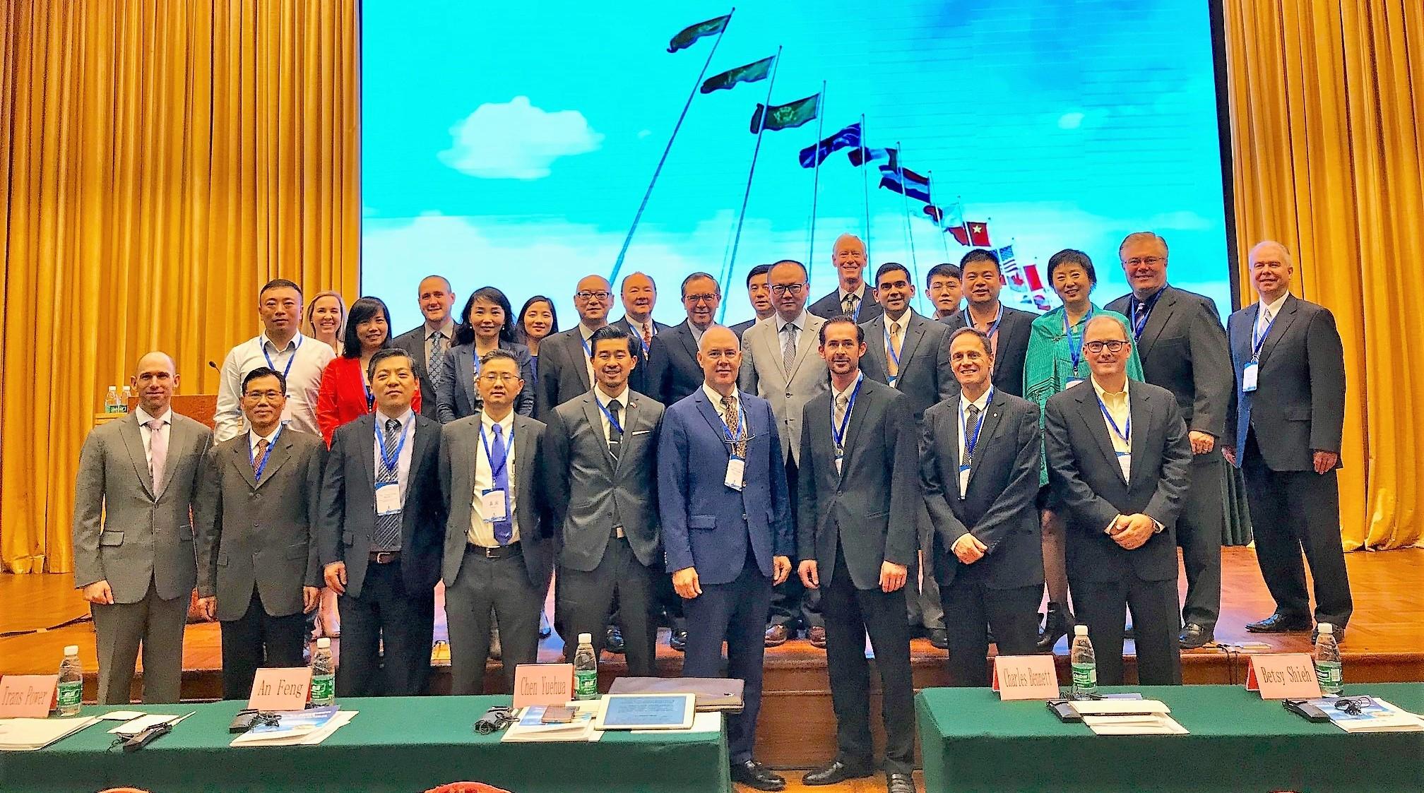 UCCTC组织2017美国新能源汽车CEO代表团访问中国